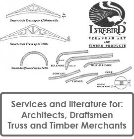 Lyrebird supports Architects, Draftspeople, Timber Merchants and Truss Manufacturers