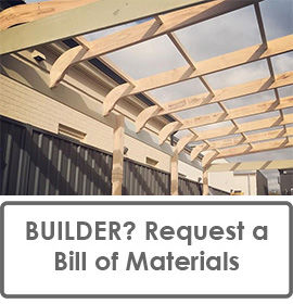 BUILDERS: Request a Fully Quantified and Costed Bill of Materials for Your Next Curved Verandah Rafter Project