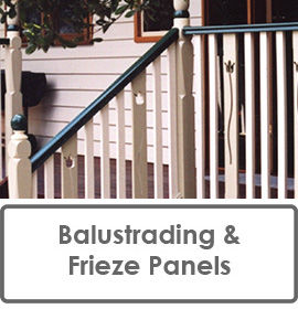 Verandah Balustrading and Frieze Panels