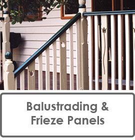 Verandah Balustrading and Frieze Panels