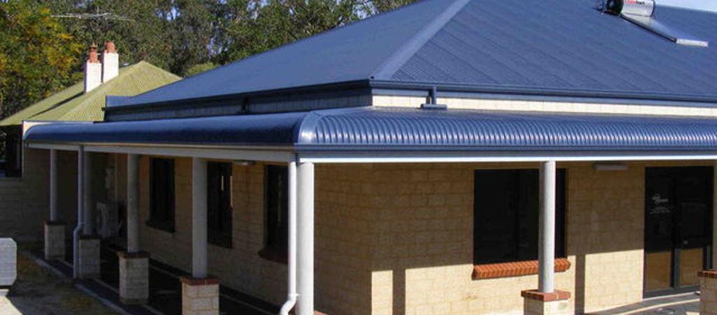 Bullnose Verandah Bullnose Roofing Verandah Rafters