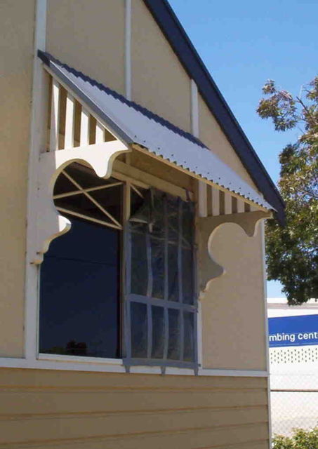 Window canopy type  BB  (with fascia omitted) & Window Canopies and Timber Window Awnings in Decorative Timber in ...