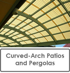 Curved Arch Patios and Pergolas