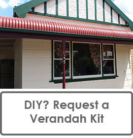 DIY Builders: Request a Fully Quantified and Costed Verandah Kit including a Bill of Materials for Every Part of Your DIY Verandah Project