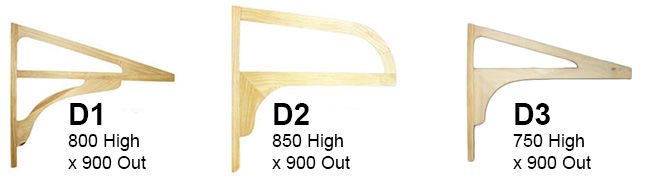Door Canopy Profiles