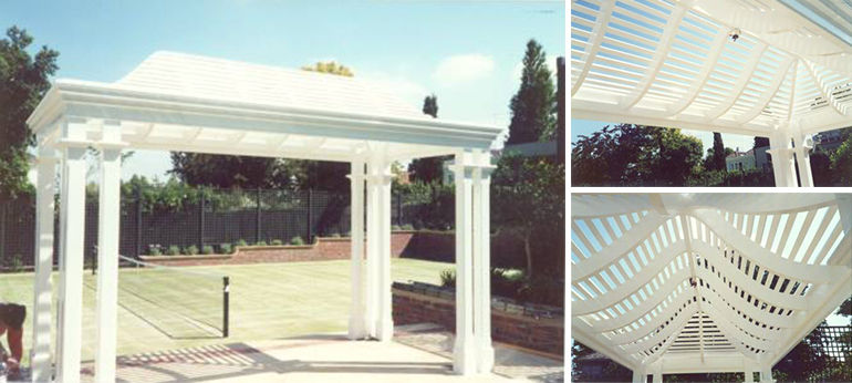 Garden Awning - Custom Designed and Manufactured by Lyrebird Enterprises