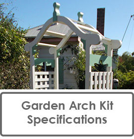 Garden Arch Kit Specifications