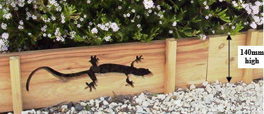 Gecko Garden Edging