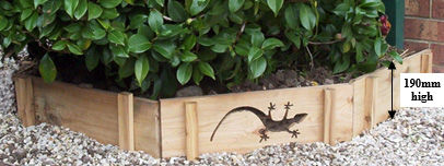 Skink Garden Edging Profile - Available in 600mm or 900mm lengths