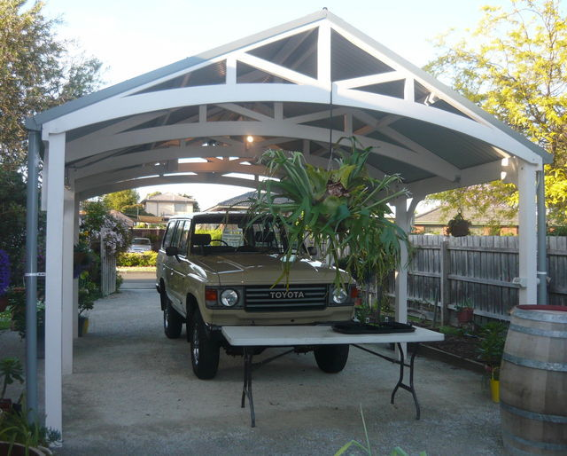 how to build a pergola carport