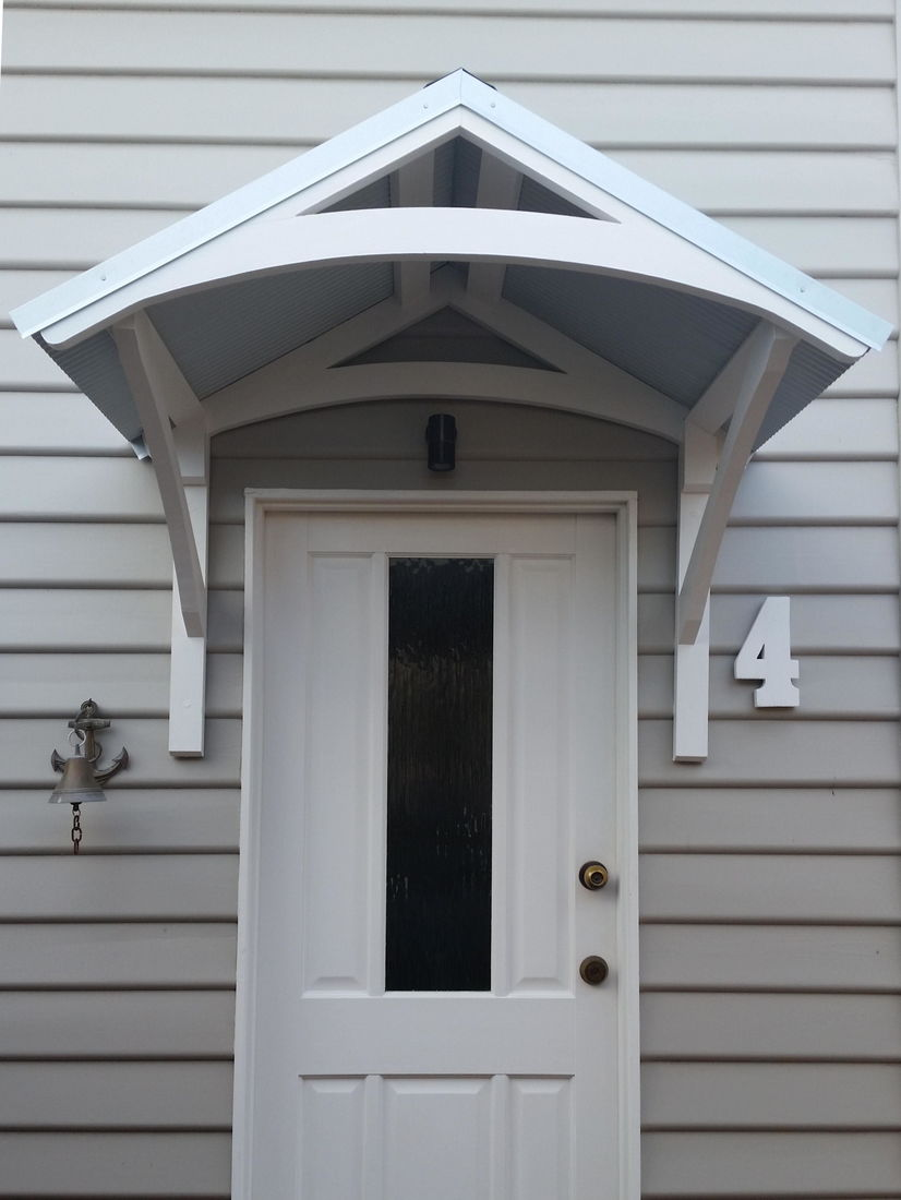 Curved Door Canopy Amp Photo