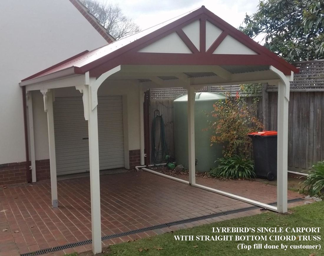 Carport Kits Patio And Pergola Trusses Carports In