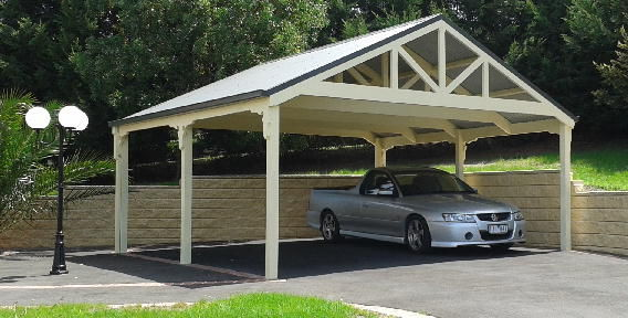 Timber Carport Kits : Carport kits patio and pergola trusses carports in