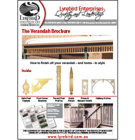 Download Lyrebird Enterprises Verandah Decoration Brochure