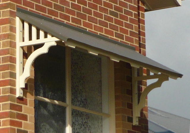 Window Canopies And Timber Window Awnings In Decorative Timber In