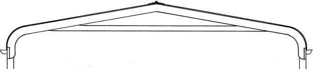 Carport Kit - Bullnose Profile