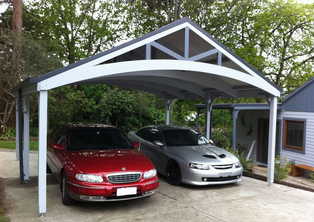 Double Carport - by Lyrebird Enterprises