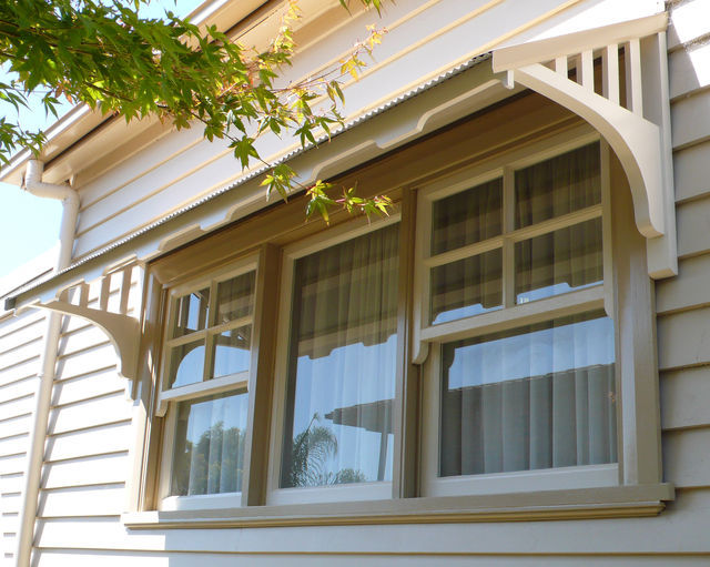 Window canopies and timber window awnings in decorative for Buy wood windows online